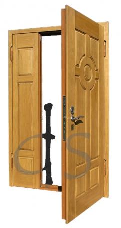 Парадная дверь Портал 002